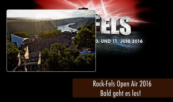RockFels2016 - Bald Festivalstart
