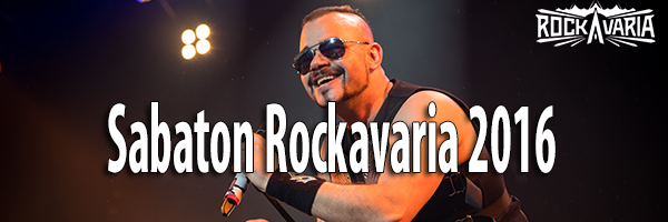 Fotos Sabaton Rockavaria 2016