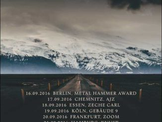 Heaven Shall Burn Wanderer Club Tour 2016 Flyer