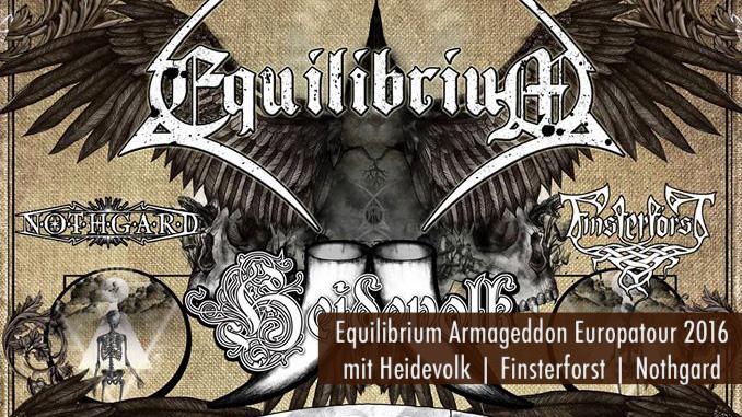 Equilibrium Europatour 2016 Artikelbild