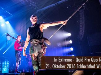 Artikelbild Konzertbericht In Extremo Quid Pro Quo 2016 Wiesbaden