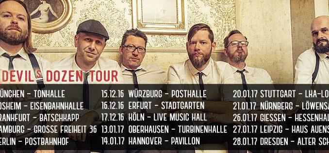 Fiddlers Green Devils Dozen Tour 2016 2017