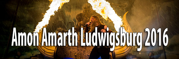 Fotos Amon Amarth MHP Arena Ludwigsburg 2016