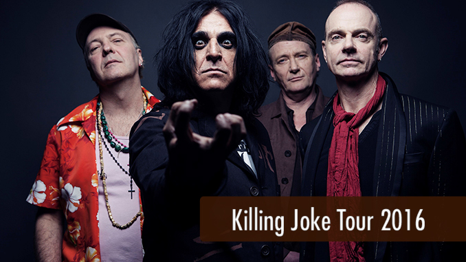 Killing Joke Tour 2016 Artikelbild