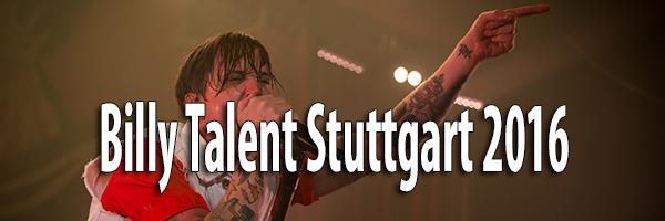 Fotos Billy Talent Schleyer Halle Stuttgart 2016