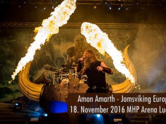 Konzertbericht Amon Amarth Jomsviking Europa Tour 2016