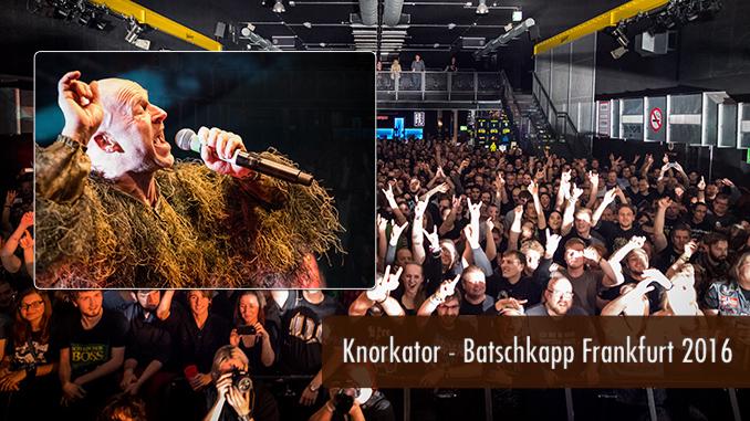 Konzertbericht Knorkator Batschkapp Frankfurt 2016