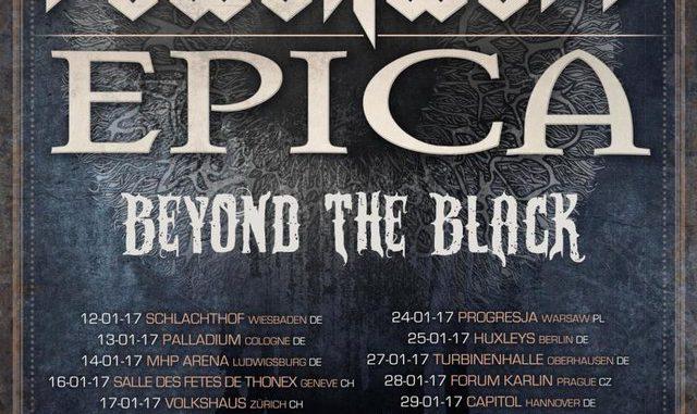 Flyer Powerwolf EPICA Europatour 2017
