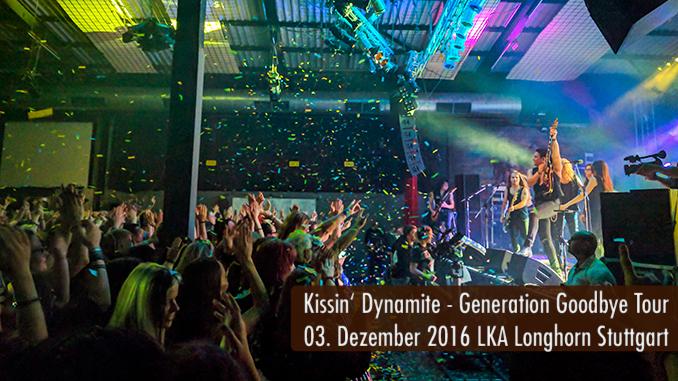 Kissin' Dynamite Generation Goodbye Tour LKA Longhorn Stuttgart