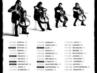Apocalyptica Plays Metallica 2017 Flyer