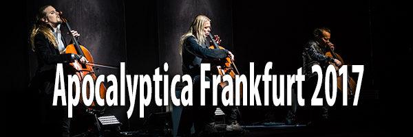 Fotos Apocalyptica Alte Oper Frankfurt 2017