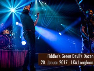 Konzertbericht Fiddlers Green Devils Dozen Tour 2017 Stuttgart