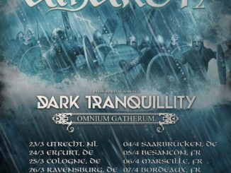 Amon Amarth Jomsviking Europa Tour 2017 Flyer
