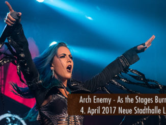Konzertbericht Arch Enemy As The Stages Burn Neue Stadthalle Langen 2017