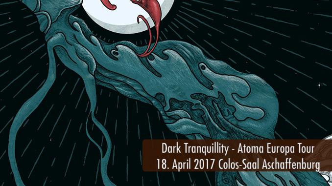 Konzertbericht Dark Tranquillity Colos-Saal Aschaffenburg 2017