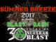 SB17 Grosse 30 Jahre Nuclear Blast Jubiläums-Party beim SUMMER BREEZE Open Air