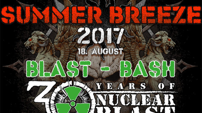 SB17 Grosse 30 Jahre Nuclear Blast Jubiläums-Party beim SUMMER BREEZE Open Air