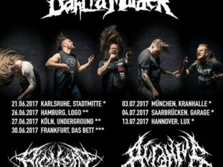 THE BLACK DAHLIA MURDER Europa Tour 2017