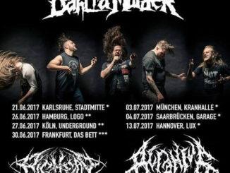 THE BLACK DAHLIA MURDER Europa Tour 2017