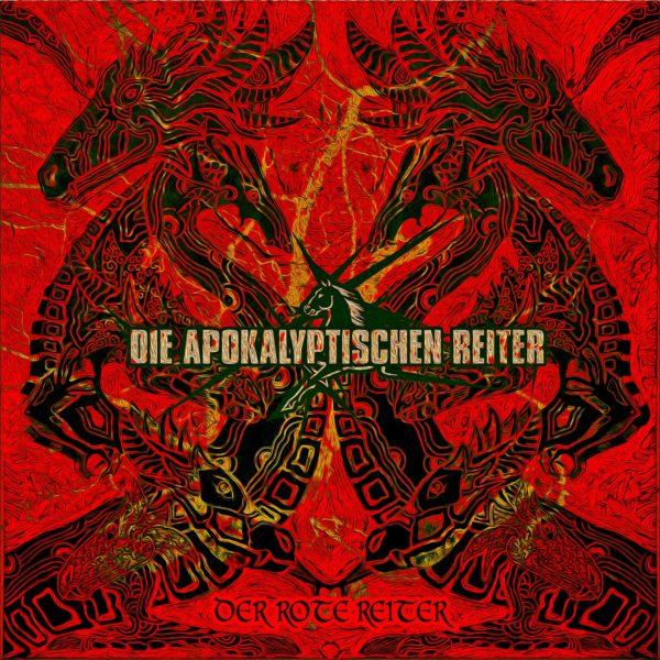 Die Apokalyptischen Reiter - Der Rote Reiter - Artwork