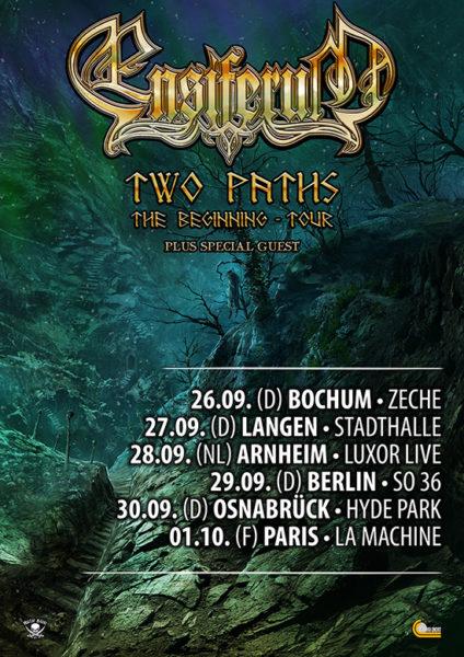 ENSIFERUM Tour 2017 - Two Paths The Beginning