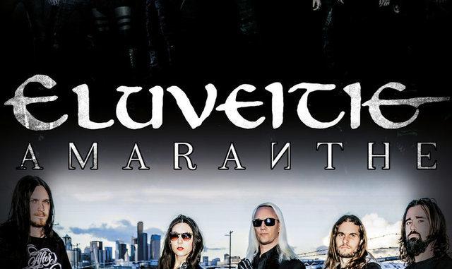 Flyer Eluveitie und Amaranthe Tour 2017