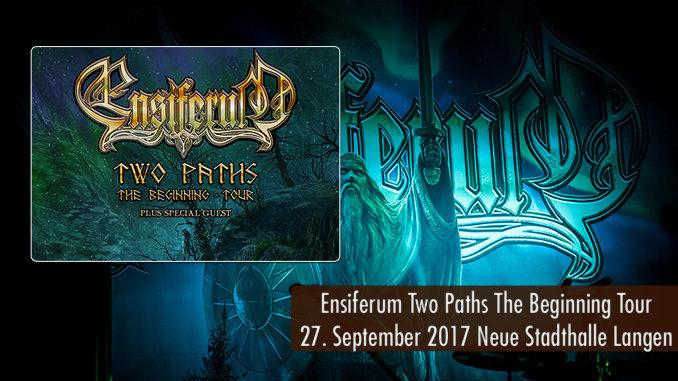 Konzertbericht Ensiferum Langen 2017