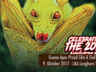 Konzertbericht Guano Apes Proud Like A God Tour 2017 LKA Longhorn Stuttgart