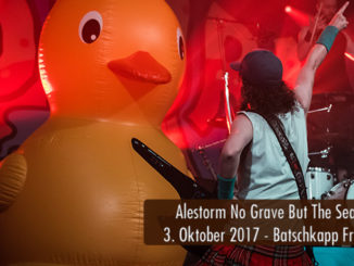 Artikelbild Konzertbericht Alestorm No Grave But The Sea Batschkapp Frankfurt 2017