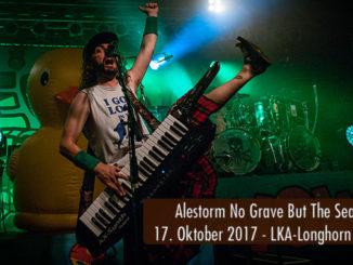 Artikelbild Konzertbericht Alestorm No Grave But The Sea LKA-Longhorn Stuttgart 2017