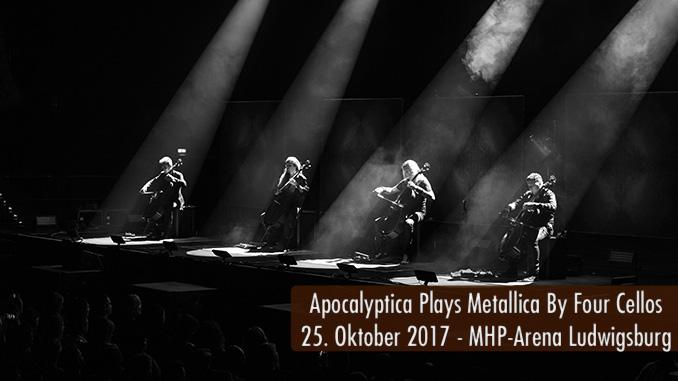 Artikelbild Konzertbericht Apocalyptica Plays Metallica By Four Cellos MHP-Arena Ludwigsburg 2017