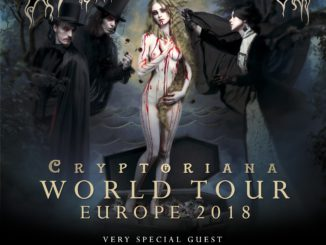 Cradle of Filth Cryptoriana World Tour 2018