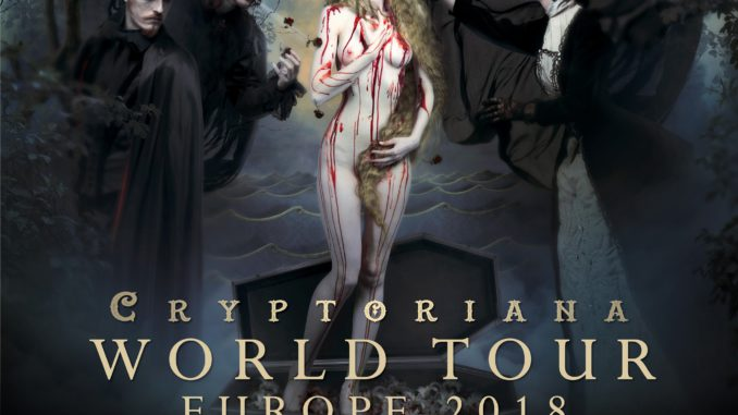 Cradle of Filth Cryptoriana World Tour 2018