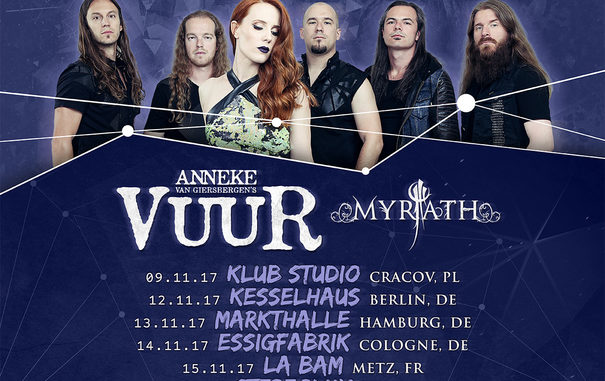 EPICA The Ultimate Principle Tour 2017