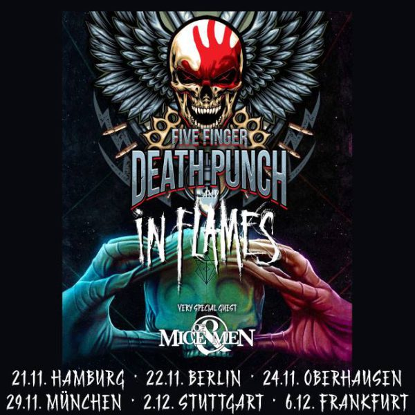 Five Finger Death Punch Stuttgart 2017