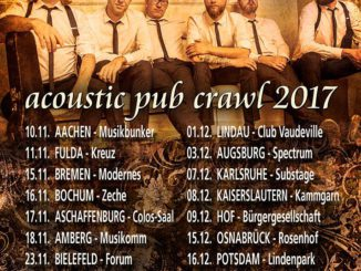Fiddlers Green Acoustic Pub Crawl 2017 Flyer