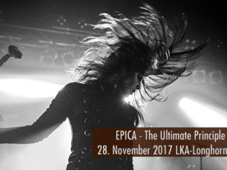 Konzertbericht EPICA The Ultimate Principle Tour 2017 LKA-Longhorn Stuttgart