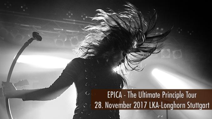 Konzertbericht EPICA The Ultimate Principle Tour 2017 LKA-Longhorn Stuttgart