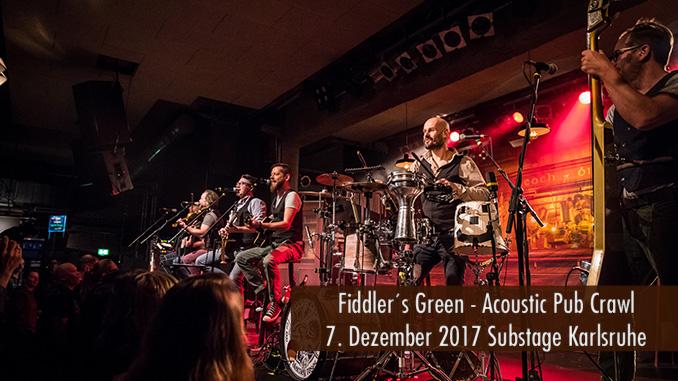 Artikelbild Fiddlers Green Substage Karlsruhe 2017 Konzertbericht