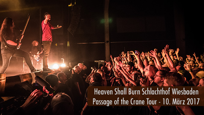 Artikelbild Heaven Shall Burn Passage of the Crane Tour 2017 Schlachthof Wiesbaden Konzertbericht