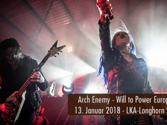 Artikelbild Konzertbericht Arch Enemy Will to Power Europa Tour 2018 LKA-Longhorn Stuttgart