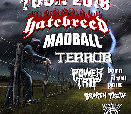 Persistence Tour 2018 Flyer