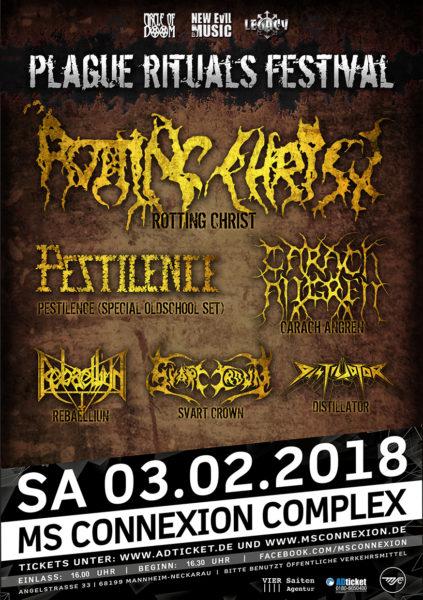 plague rituals festival 2018 flyer