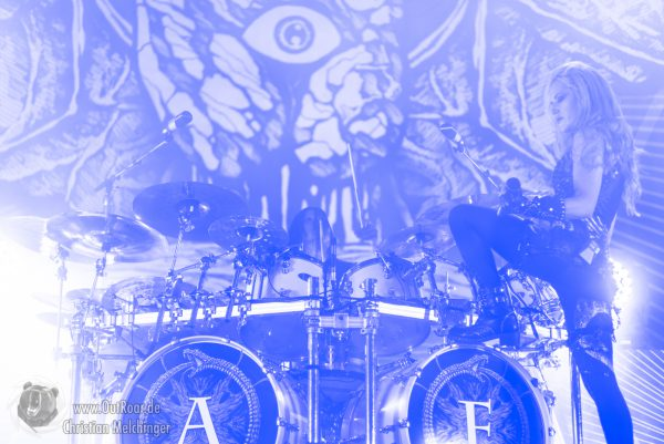 Arch Enemy Will to Power Europa Tour 2018 Wiesbaden