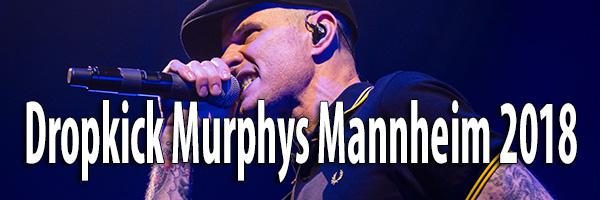 Artikelbild Fotos Dropkick Murphys Mannheim 2018