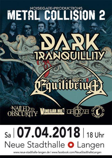 Flyer Dark Tranquillity Atoma Europatour 2018 Langen