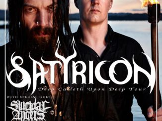 Flyer Satyricon Deep Calleth Upon Deep Tour 2018