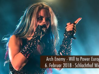Konzertbericht Arch Enemy Will to Power Europa Tour 2018 Wiesbaden