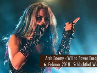 Konzertbericht Arch Enemy Will to Power Europa Tour 2018 Wiesbaden