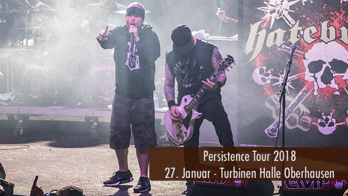 Konzertbericht Artikelbild Persistence Tour 2018 Oberhausen Turbinenhalle